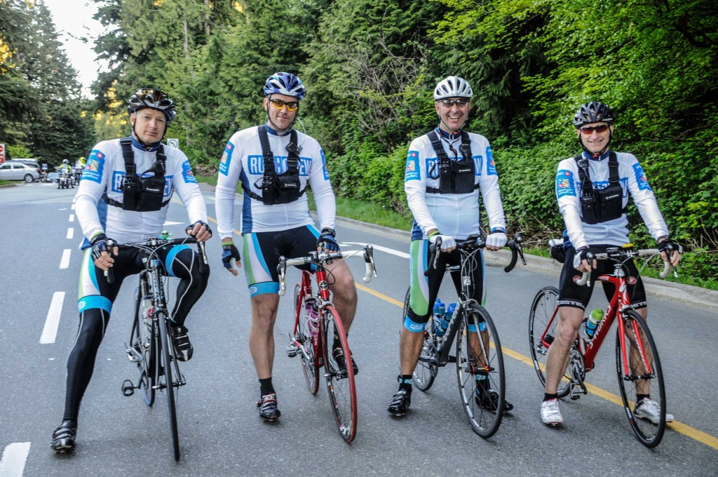 Join our Cycling Crew and make lifelong friends--like these cyclists did!
